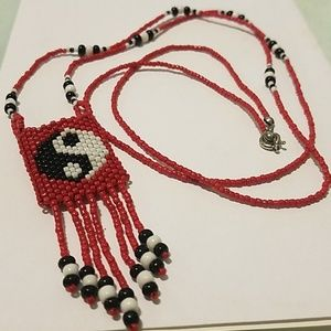 Jewelry - Beaded Pouch Necklace